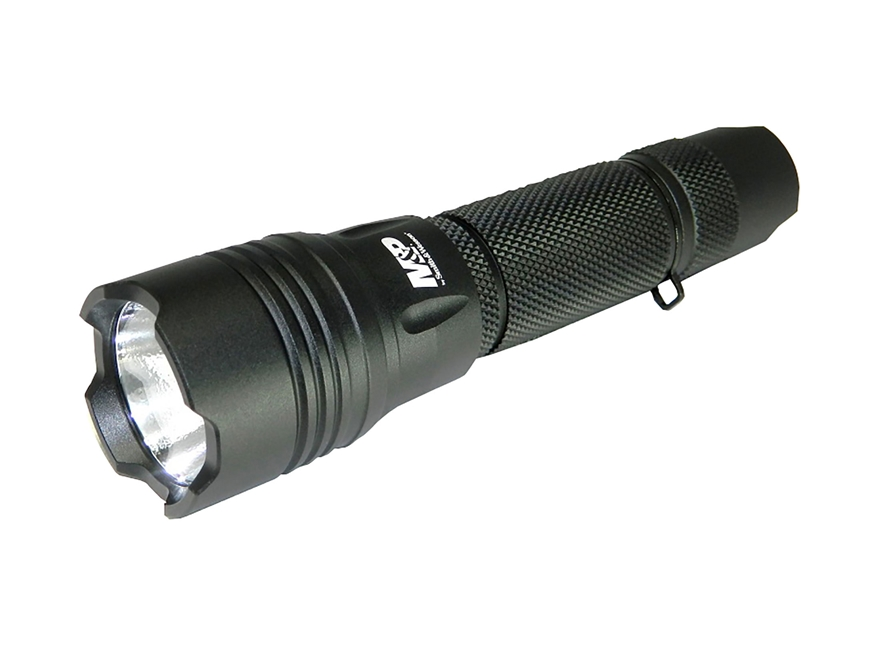 Smith & Wesson M&P 10 Tactical Flashlight LED with 2 CR123A Batteries Aluminum Black