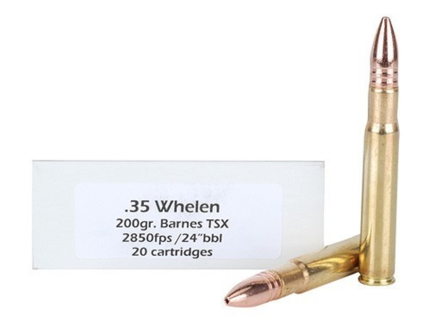 Doubletap Ammunition 35 Whelen 200 Grain Barnes Triple-Shock X Bullet Lead-Free Box of 20