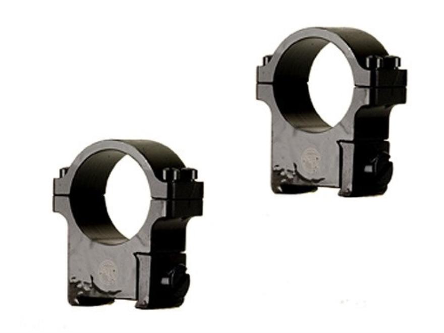 "CZ 1"" Ring Mounts CZ 527 (16mm Dovetail) Blued Medium"