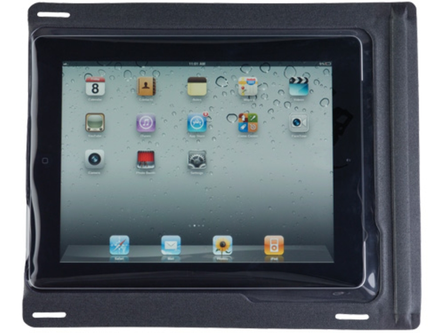 SealLine iSeries Waterproof Case for iPad (without Headphone Jack) Polymer Black