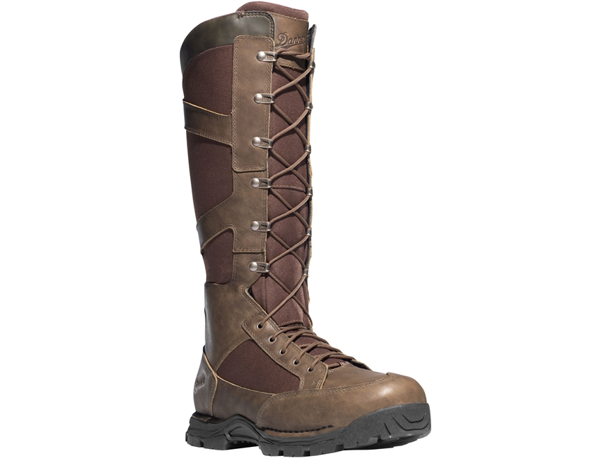 "Danner Pronghorn 17"" Side-Zip Snake Boots Leather/Nylon"