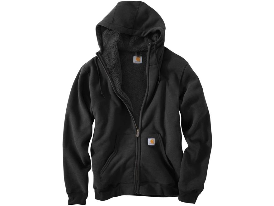 Carhartt Men's Collinston Brushed Fleece Sherpa Lined Heavyweight Hooded Sweatshirt Cot...
