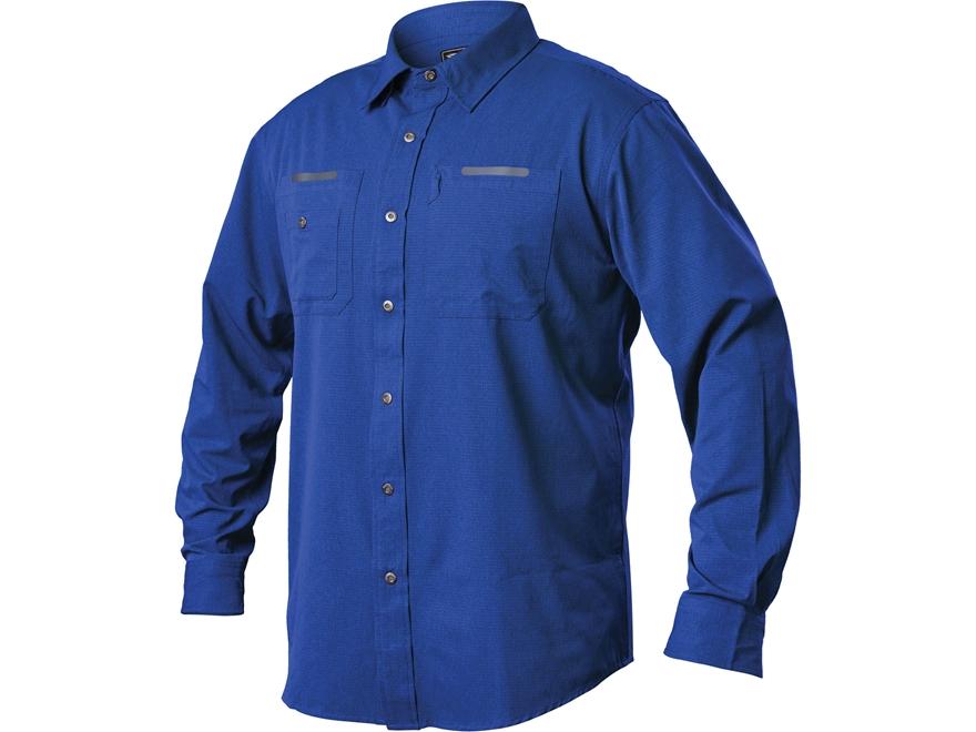 BLACKHAWK! Men's Tac Flow Button-Up Shirt Long Sleeve Polyester
