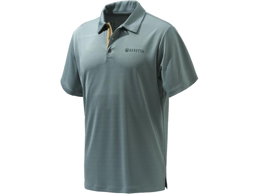 Beretta Men's Tech Polo Short Sleeve Polyester