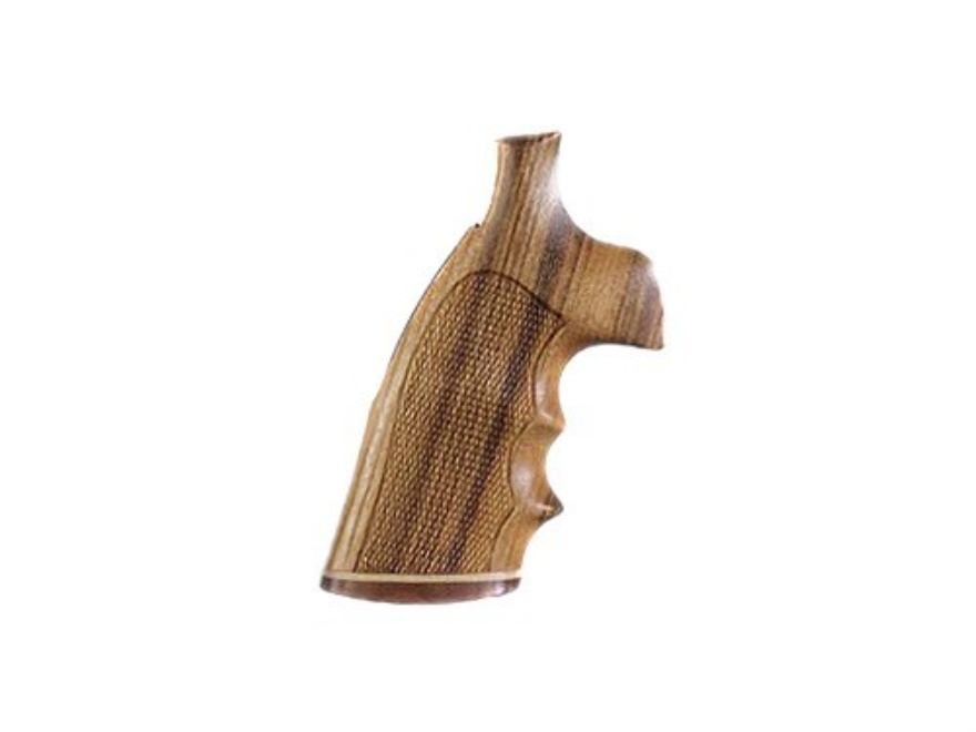 Hogue Fancy Hardwood Grips S&W K, L-Frame Square Butt Checkered