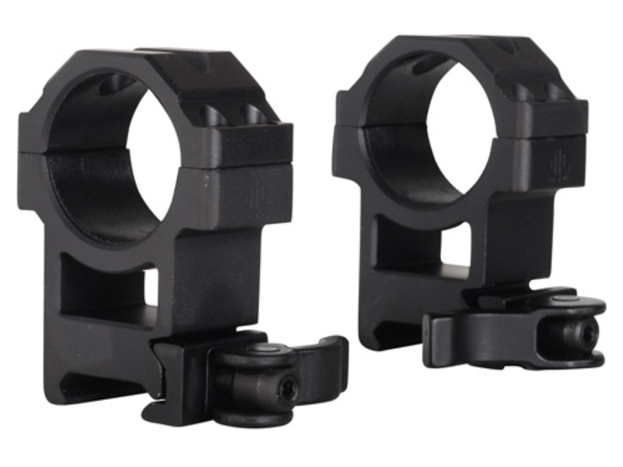 Leapers UTG 30mm Max Strength Tactical 4-Hole Quick Detachable Picatinny-Style Rings Ma...