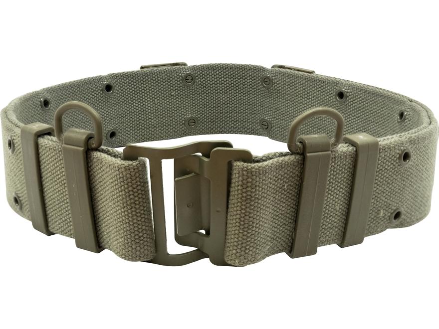 Military Surplus French Famas Combat Belt Grade 1 Olive Drab