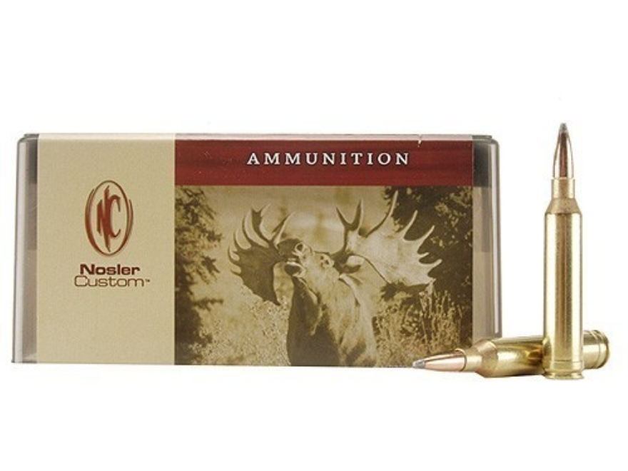 Nosler Custom Ammunition 264 Winchester Magnum 140 Grain Partition Spitzer Box of 20