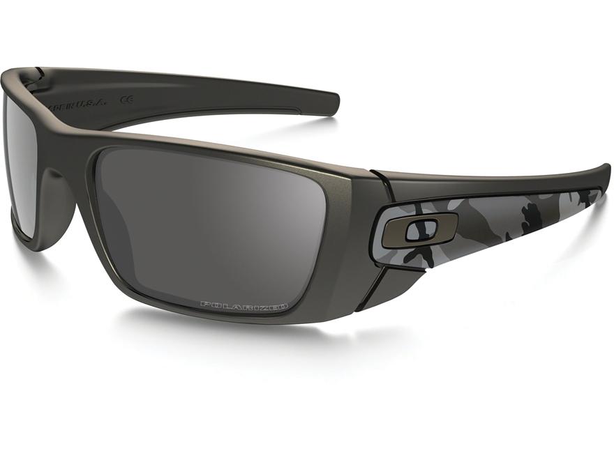 56f08ea5f9 Oakley Fuel Cell Polarized Sunglasses Carbon Camo Frame Black Iridium Under  Armour Ranger Storm ...