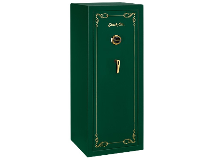 Stack-On 16-Gun Safe with Combination Lock Hunter Green