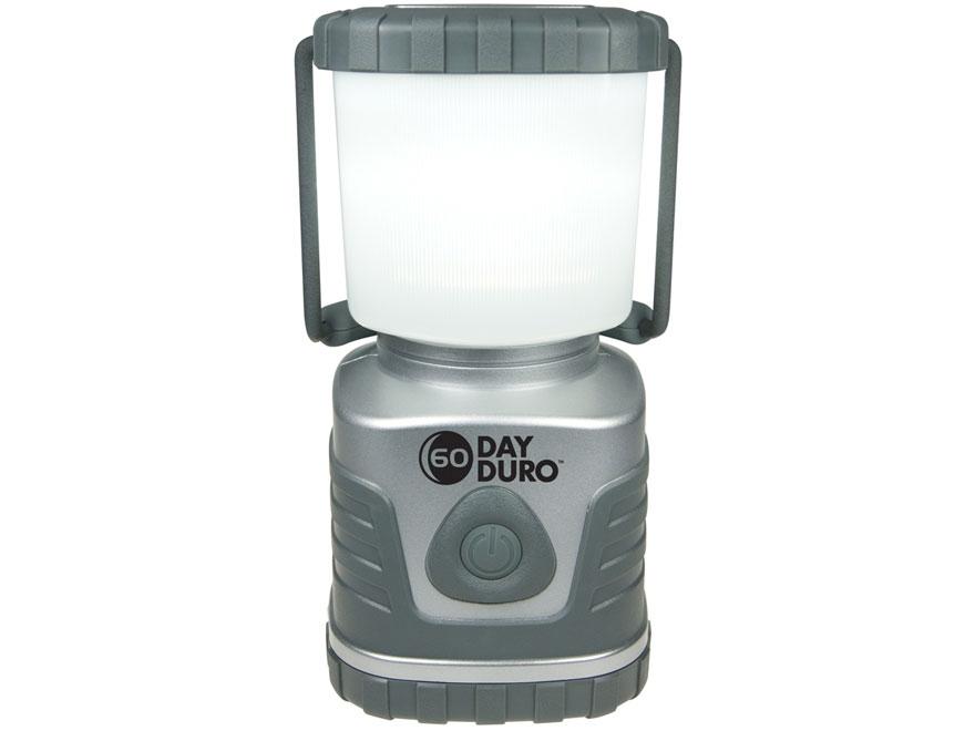 UST 60-Day Duro LED Lantern Requires 6 D Batteries ABS Plastic Titanium