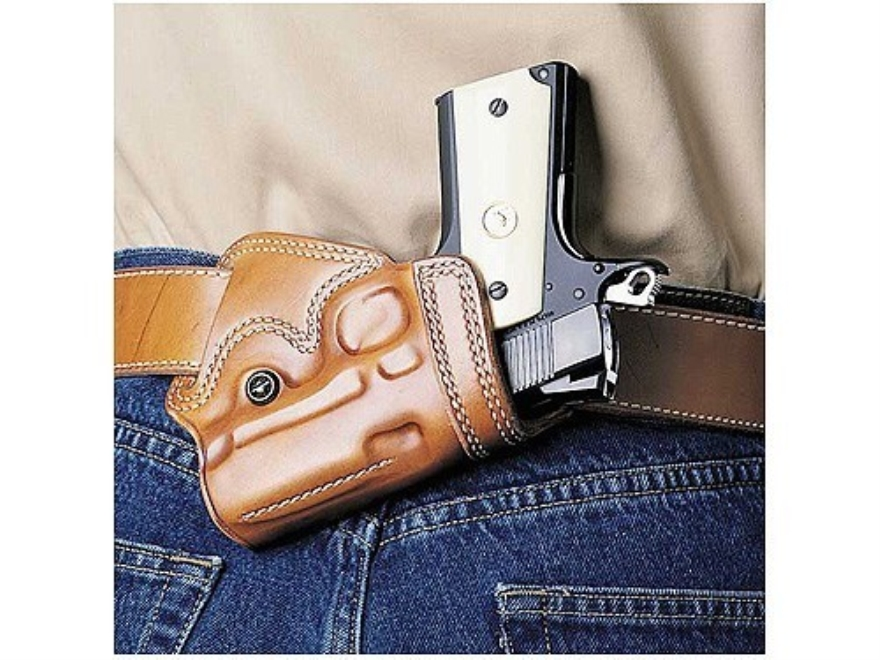 Galco Small Of Back Holster Right Hand Glock 26, 27, 33 Leather Tan