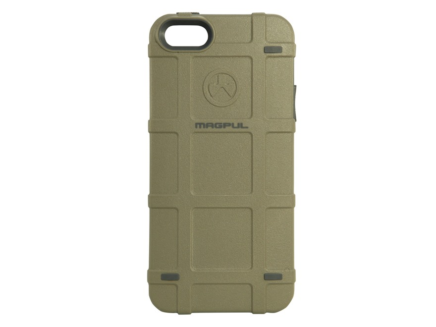 magpul iphone case magpul apple iphone 5 5s bump phone polymer flat 12606