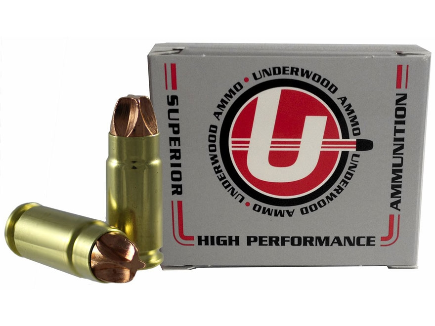 Underwood Ammunition 9x25mm Dillon 90 Grain Lehigh Xtreme Defender Lead-Free Box of 20