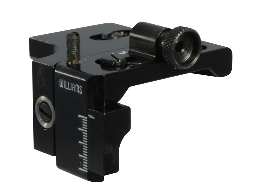 Williams 5D-AG Aperature Rear Sight Rimfire Dovetail Grooved Receivers Aluminum Black