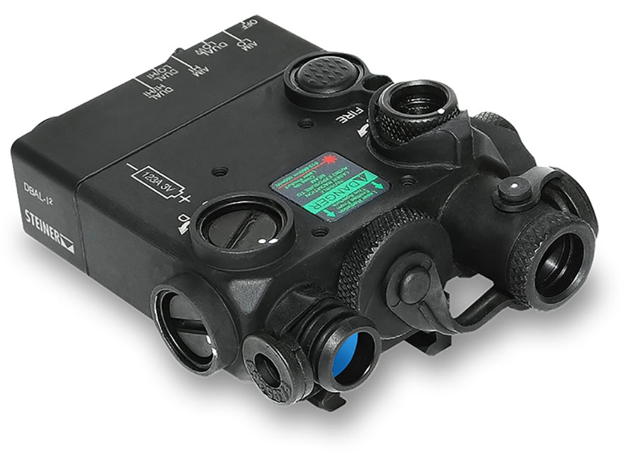 Steiner DBAL-I2 Dual Beam Aiming Laser with Quick-Detachable Picatinny Style Mount