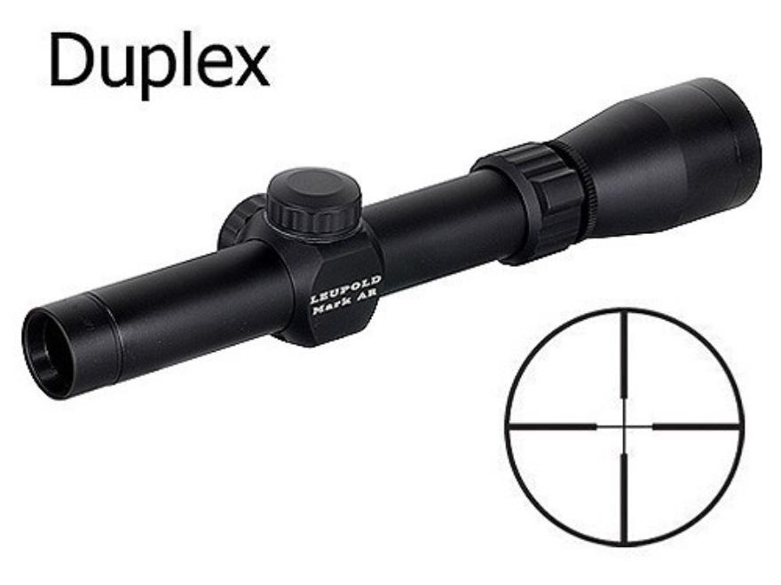 Leupold Mark AR Rifle Scope 1.5-4x 20mm Duplex Matte