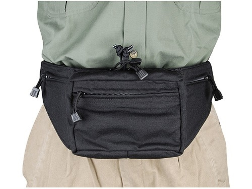 BLACKHAWK! Fanny Pack with Holster and Retention Belt Loops Nylon