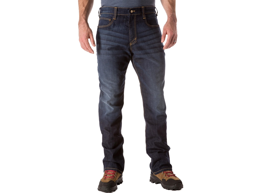 5.11 Men's Defender-Flex Tactical Jeans Cotton/Polyester Denim Blend
