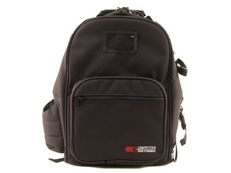 CED Shooter's Backpack Range Bag Nylon Black
