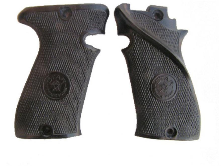 Vintage Gun Grips Star Polymer Black