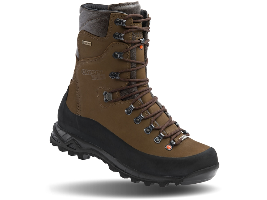 """Crispi Guide GTX 10"""" Waterproof GORE-TEX 200 Gram Insulated Hunting Boots Leather Men's"""