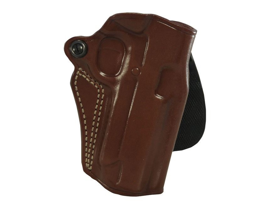 Galco Speed Paddle Holster 1911 Commander Leather