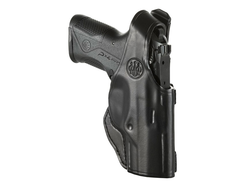 Beretta Mod. 6 Belt Holster Right Hand PX4 Storm Compact Leather Black