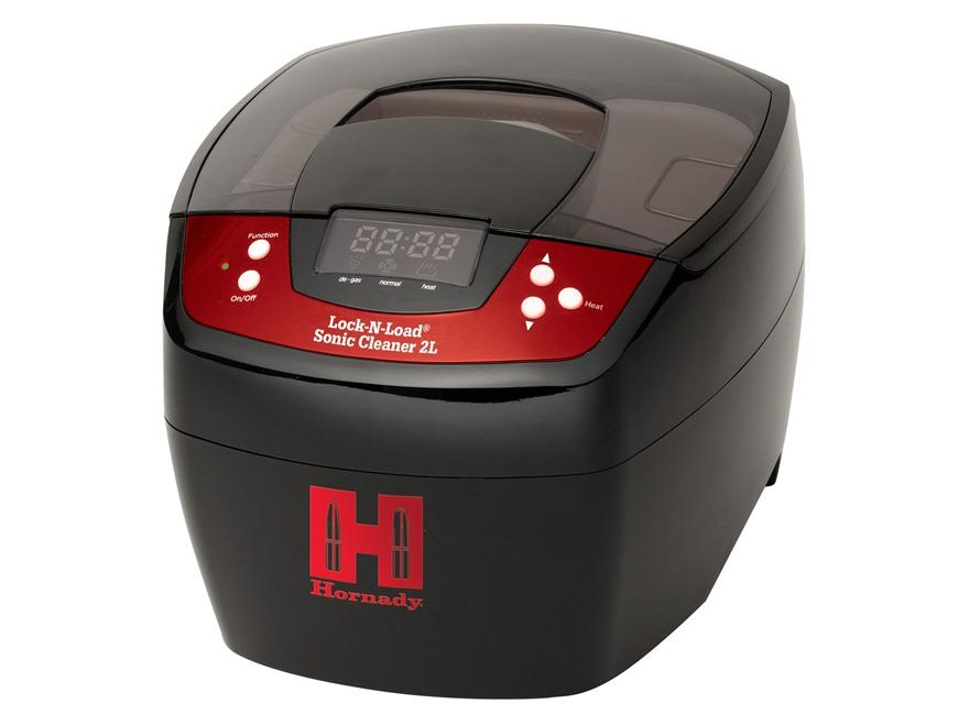 Hornady Lock-N-Load Sonic Cleaner 2L Ultrasonic Case Cleaner 110 Volt