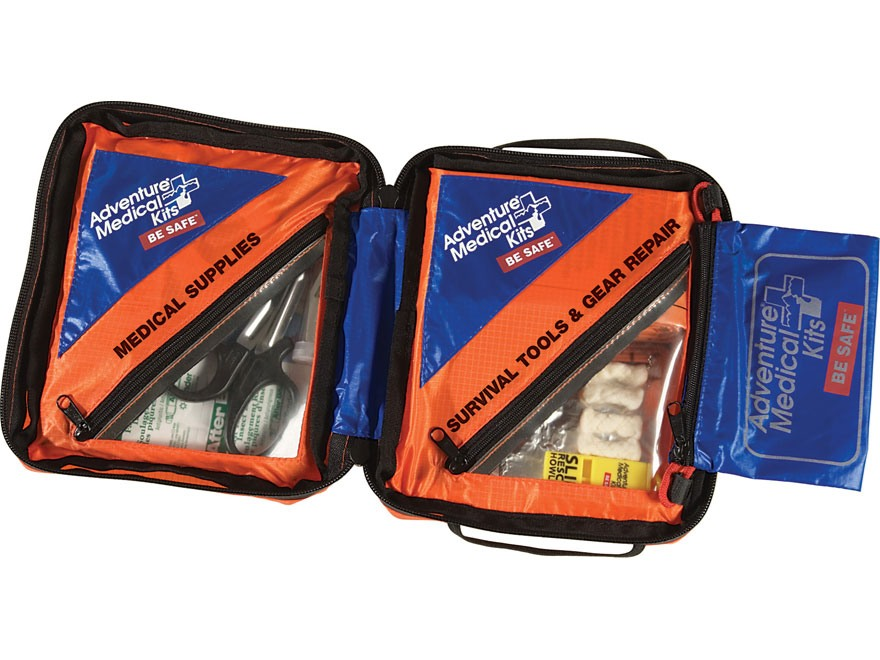 adventure medical kits sol hybrid 3 survival first aid and gear repair kit