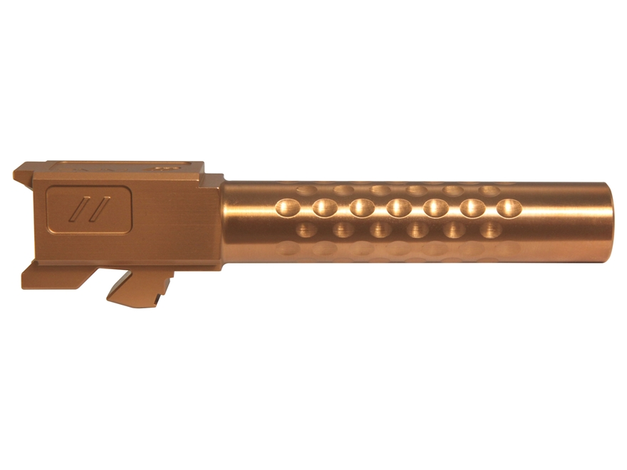 "ZEV Technologies Match Grade Barrel Glock 19 9mm Luger 1 in 10"" Twist 4.03"" Dimpled Sta..."
