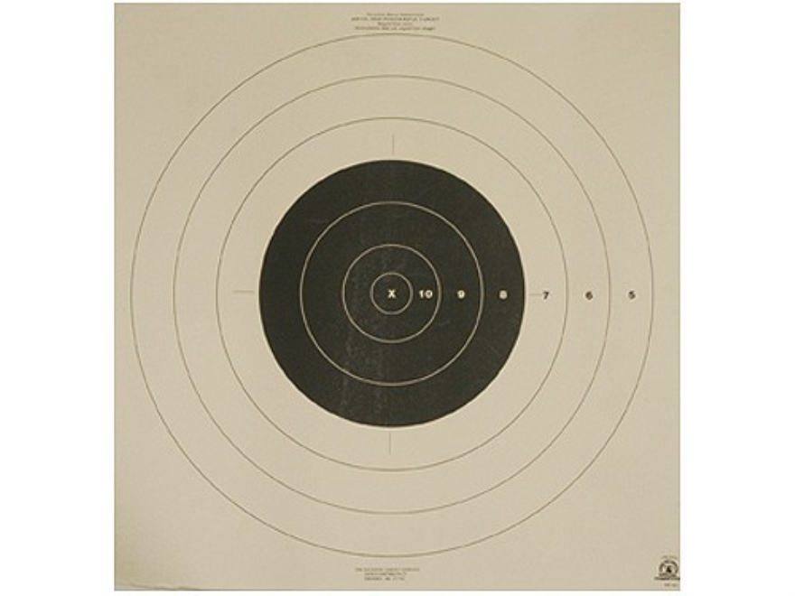 NRA Official High Power Rifle Targets SR-42 200 Yard Rapid Fire Paper Pack of 50