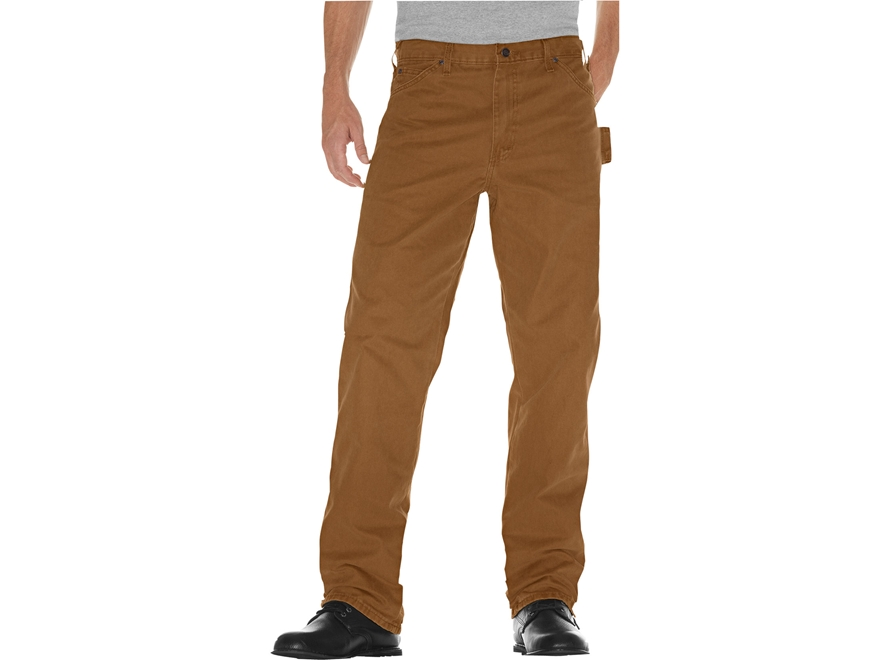 Dickies Men's Relaxed Fit Sanded Duck Carpenter Jeans