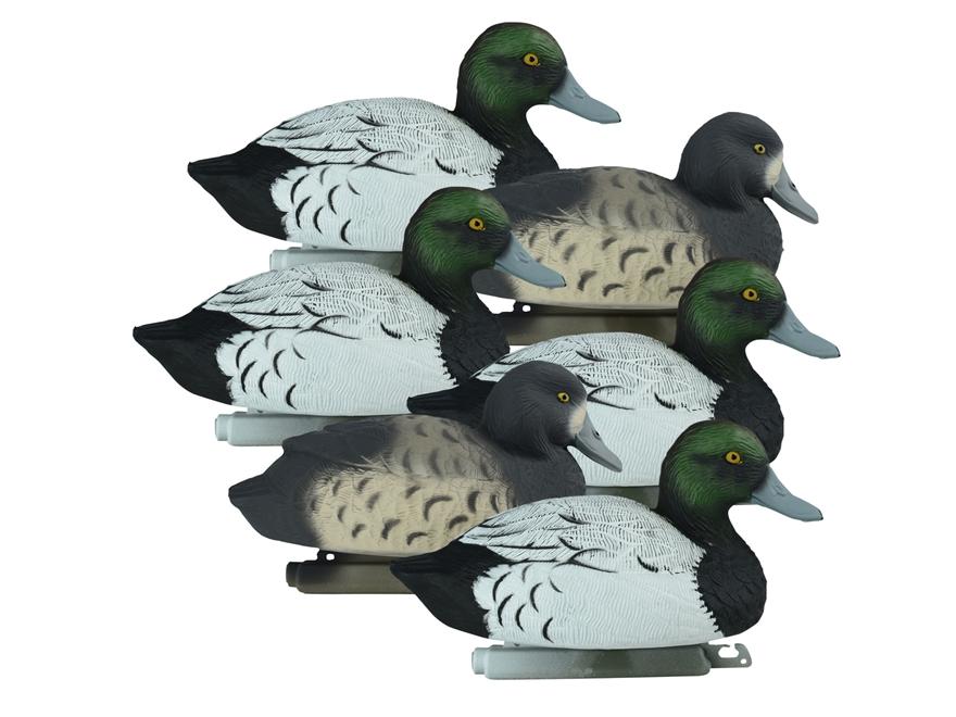 Higdon Standard Bluebill Duck Decoy Polymer Pack of 6