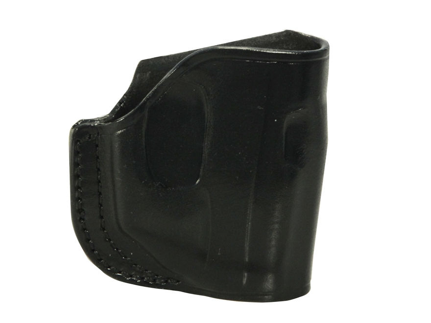 Galco Stinger Belt Holster Right Hand Ruger LCP with LaserMax Leather Black