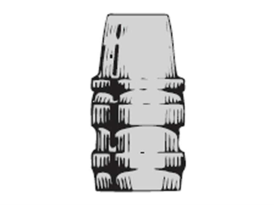 Saeco 3-Cavity Bullet Mold #393 38 Special, 357 Magnum (358 Diameter) 162 Grain Semi-Wa...