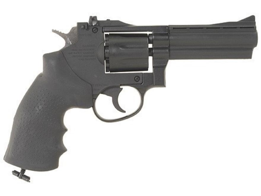 """Gamo R-77 Combat Revolver CO2 Air Pistol 177 Caliber 4"""" Blue Barrel"""