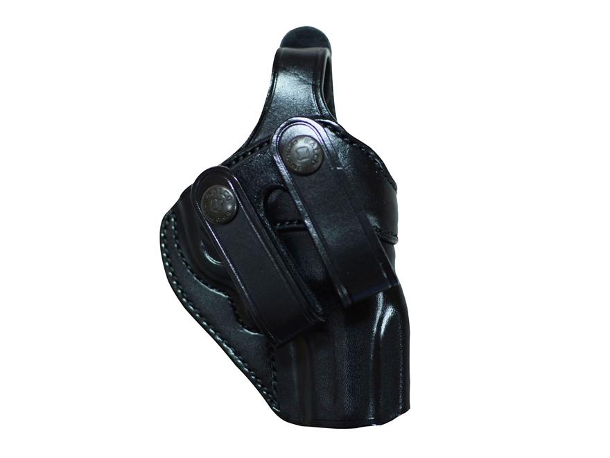 "Galco SC2 Inside the Waistband Holster Right Hand S&W J-Frame 2-1/8"" Barrel Leather Black"