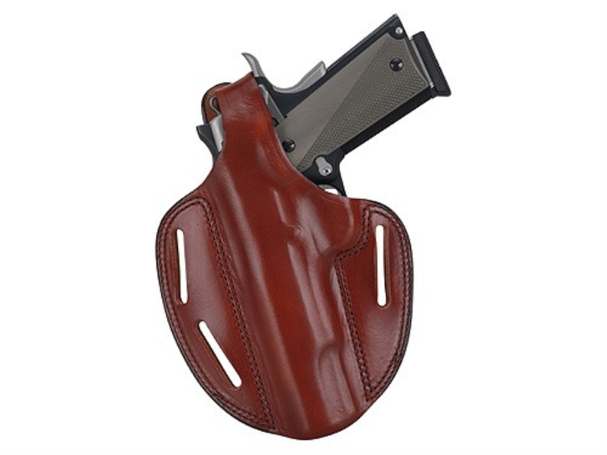 Bianchi 7 Shadow 2 Holster Left Hand HK USP 45 Leather Tan