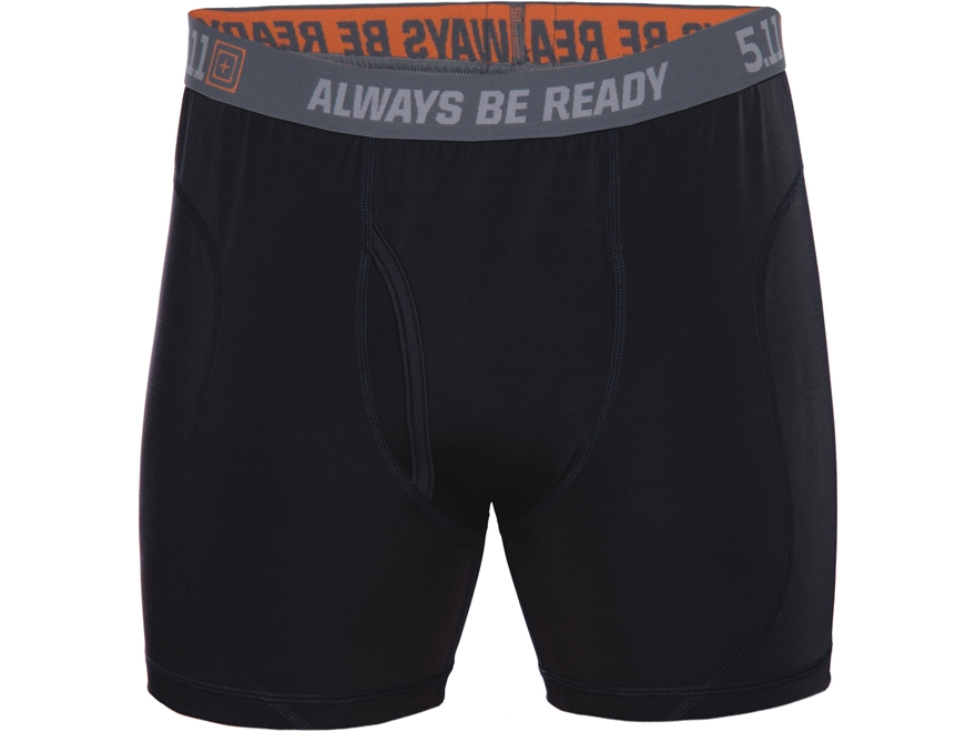 "5.11 Men's 6"" Performance Boxer Briefs Synthetic Blend"
