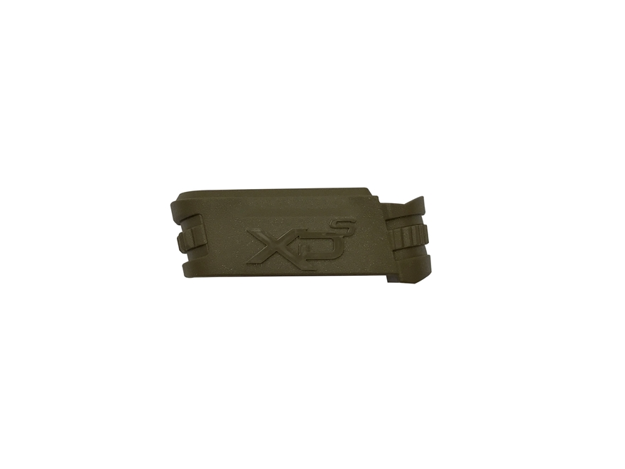 """Springfield Armory Magazine Adapter Springfield XD-S 3.3"""" 9mm Luger Mid Size Flat Dark ..."""