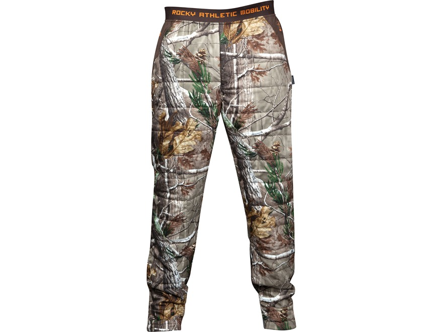 Rocky Men's L2 PrimaLoft Insulated Pants Polyester Realtree AP Camo Medium 31-34 Waist ...