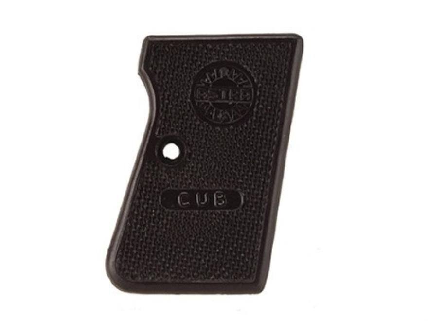 Vintage Gun Grips Astra Cub 22 Short, 25 ACP Polymer Black