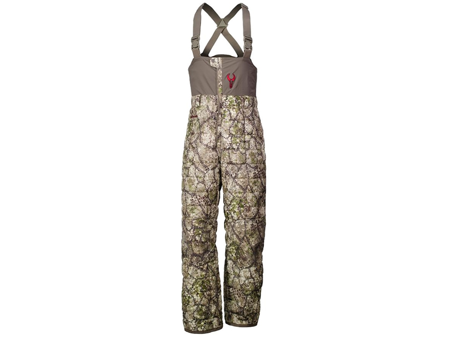 Badlands Men's UL Insulated Bibs Polyester Ripstop Approach Camo