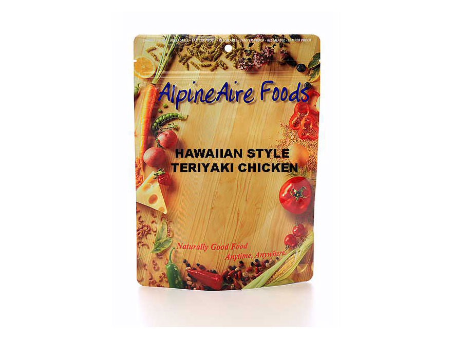 AlpineAire Hawaiian Style Teriyaki Chicken Freeze Dried Food 2 Servings