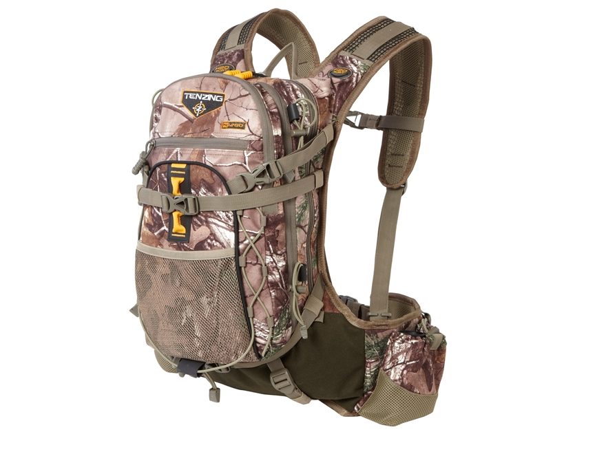 """Tenzing TC 1260 """"The Choice"""" Light Day Backpack Polyester and Nylon Ripstop Realtree Xt..."""