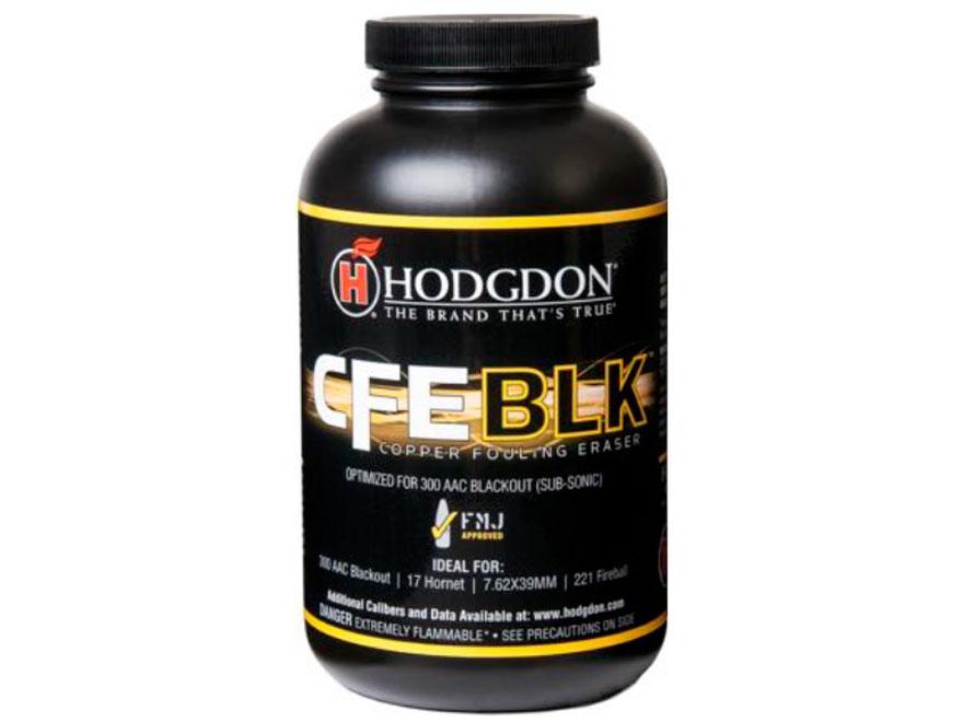 Hodgdon CFE BLK Smokeless Powder