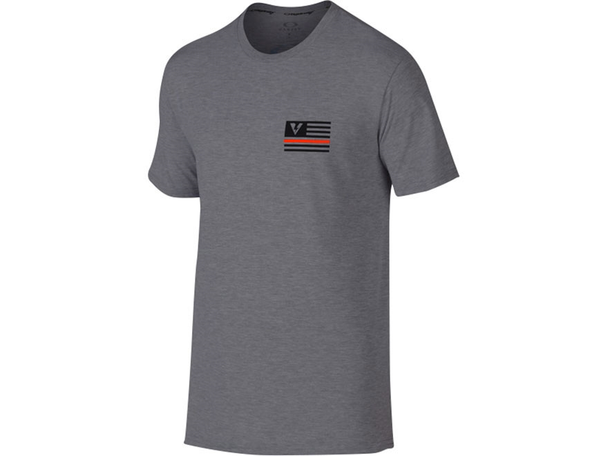 Oakley SI The Thin Red Line T-Shirt Short Sleeve O-Hydrolix Shadow Large