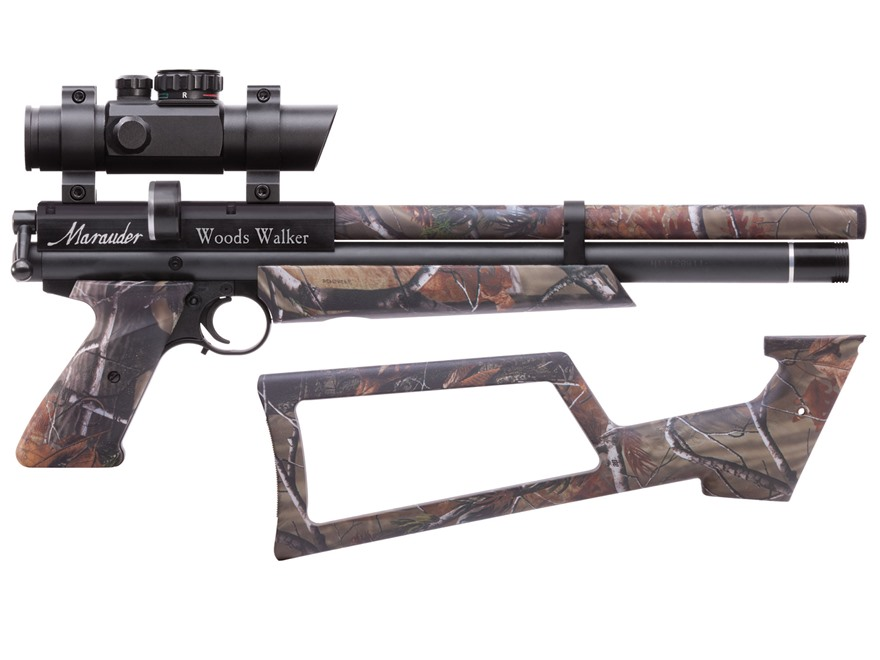 Benjamin Marauder Woods Walker Air Pistol 22 Caliber Pellet Polymer Stock Realtree AP Camo