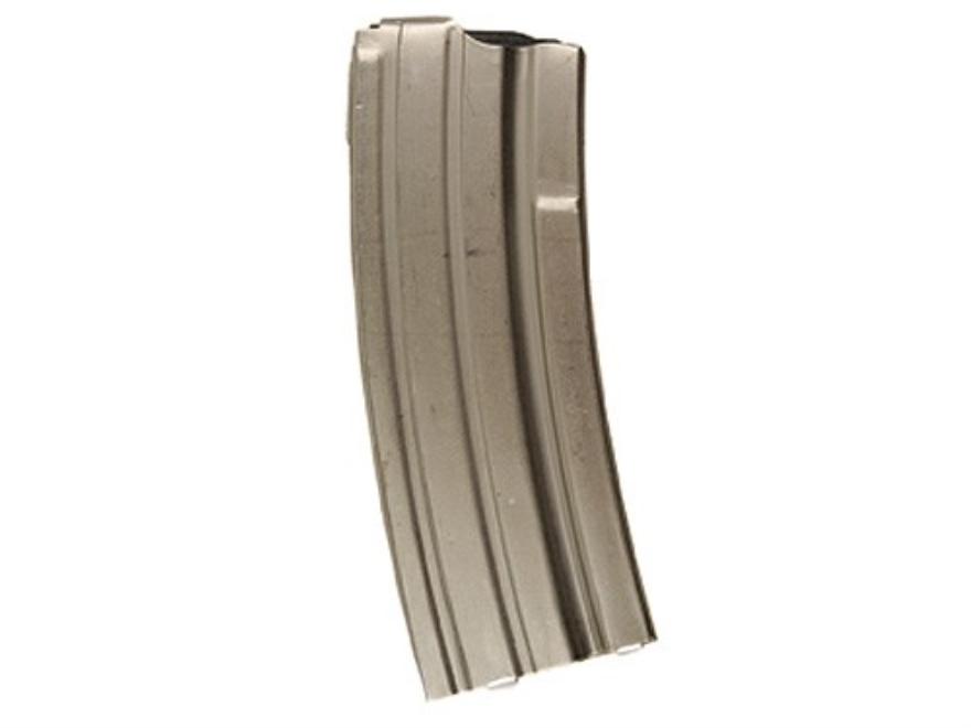 Triple K Magazine Ruger Mini-14 223 Remington 30-Round Steel Silver